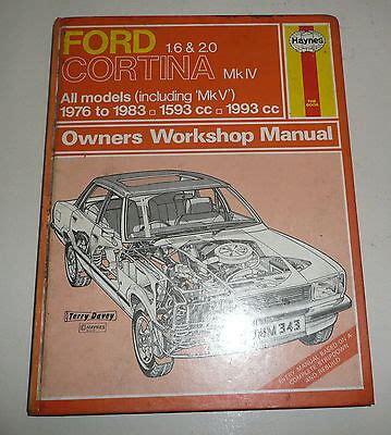 Haynes Repair Manual Ford Cortina