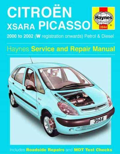 Haynes Repair Manual Picasso
