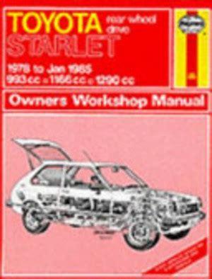 Haynes Toyota Starlet Manual