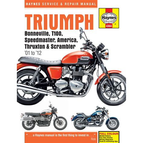 Haynes Triumph Bonneville Manual