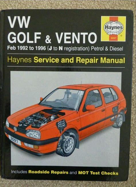 Haynes Vw Mk3 Manual