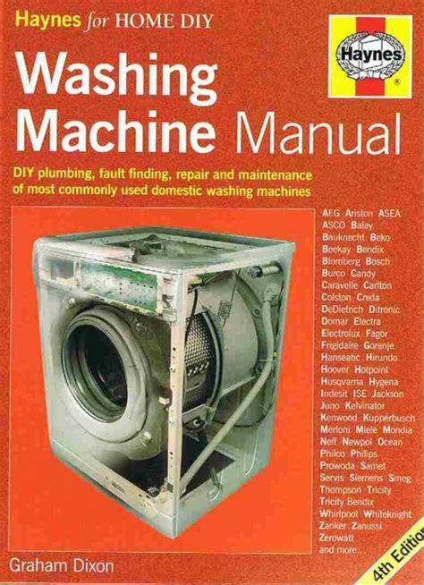 Haynes Washing Machine Repair Manual