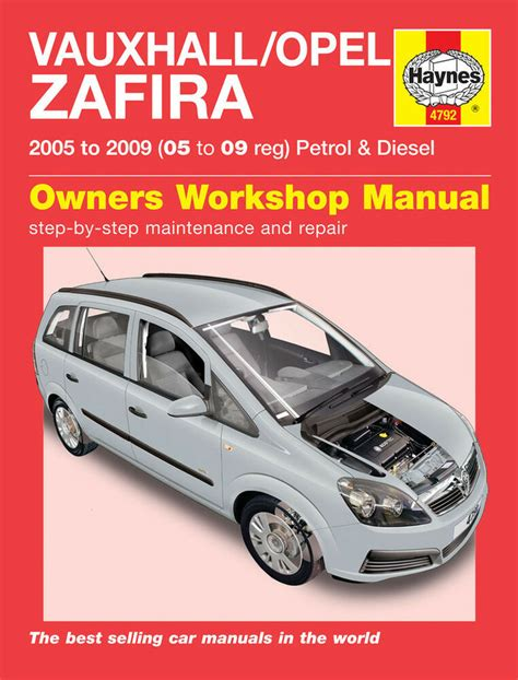 Haynes Zafira Manual