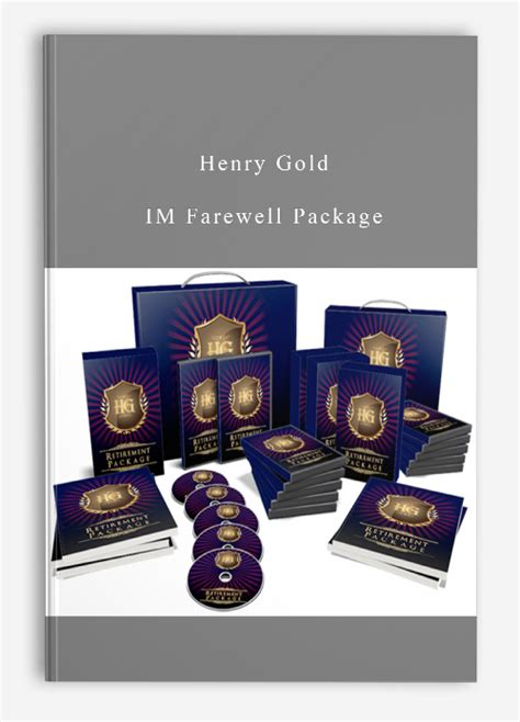 Henry Gold - IM Farewell Package