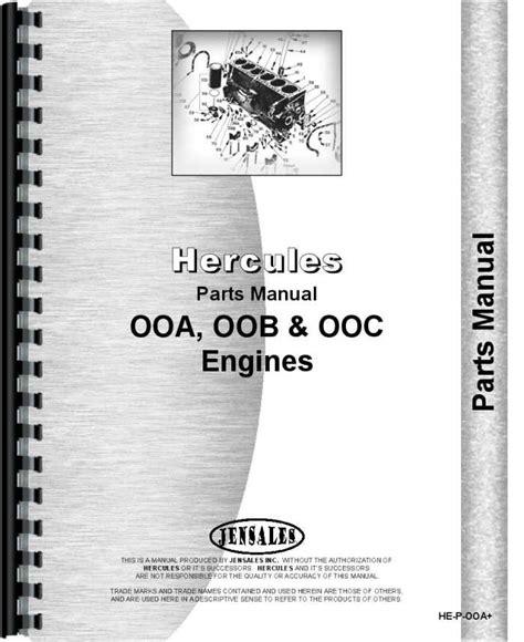Hercules Engines Ooc Engine Manual