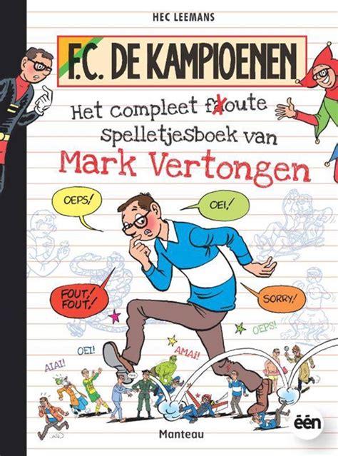 Het Complete Foute Spelletjesboek Van Mark Vertongen