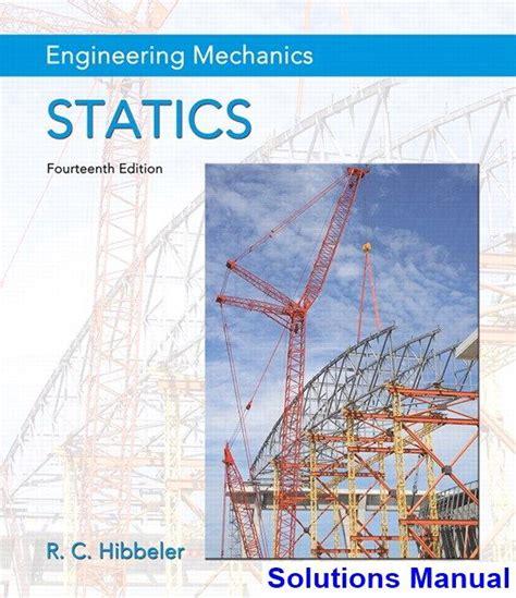 Hibbler Engineering Mechanics Statics Solutions Manual