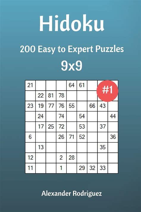 Hidoku 200 Normal Puzzles 9x9 Volume 3 Hidoku Normal