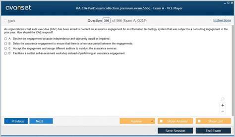 High IIA-CIA-Part2 Passing Score