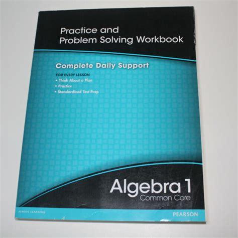 High School Math 2012 Common Core Algebra 1 Practice And Problem Solvingworkbook Grade 8 9 By Prentice Hall 2011 07 01