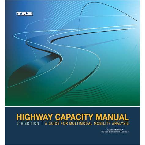 Highway Capacity Manual 2015 Dawnload