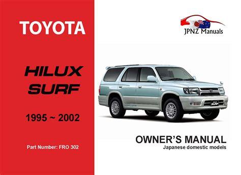 Hilux Surf User Manual