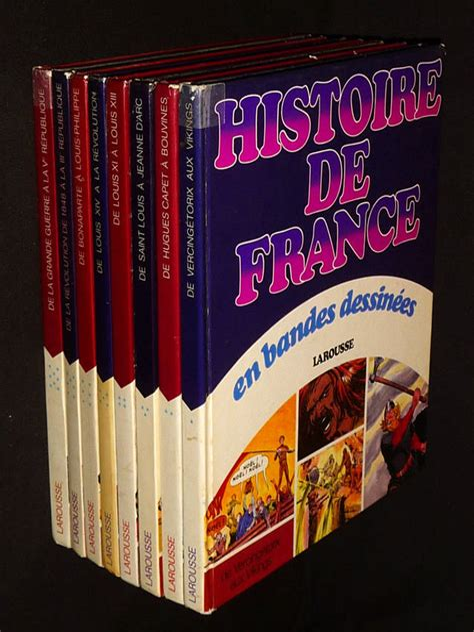 Histoire De France En Bandes Dessinees En 8 Volumes