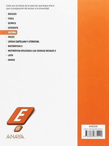 Historia Evaluacion De Bachillerato 2017 9788469834299 Modelos De Pruebas De Evaluacion De Bachillerato