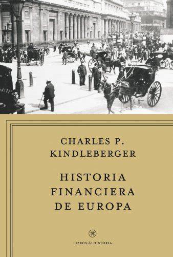 Historia Financiera De Europa Libros De Historia