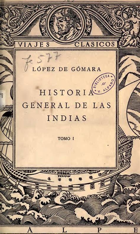 Historia General De Las Indias