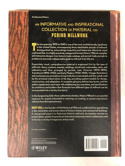 Historic Millwork A Guide To Restoring And Re Creating Doors Windows And Moldings Of The Late Nineteenth Through Mid Twentieth Centuries