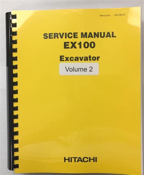 Hitachi Excavator Service Manual Buy