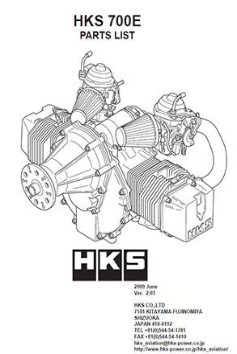 Hks 700e Engine Maintenance Manual