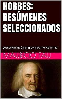 Hobbes Resumenes Seleccionados Coleccion Resumenes Universitarios No 122