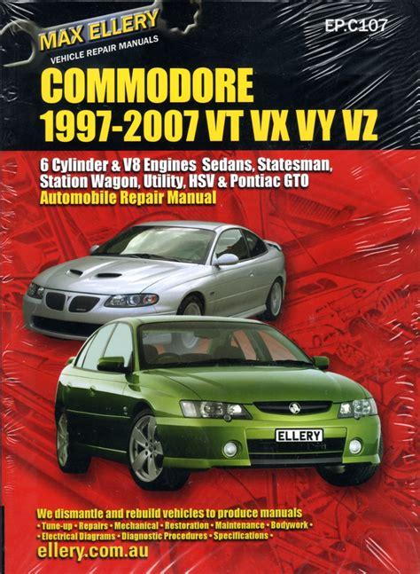 Holden Commodore Vz Repair Manual 2007