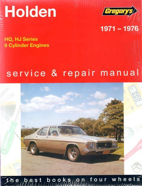 Holden Hq Service Repair Manual