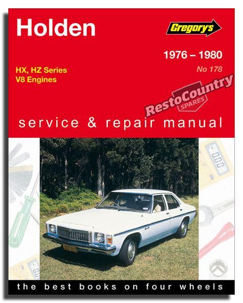 Holden Hz Manual