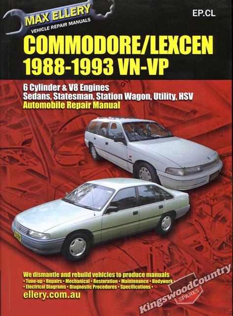 Holden Vp Workshop Manual V8