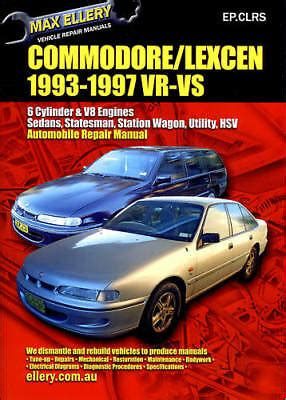Holden Vs Commodore Service Manual