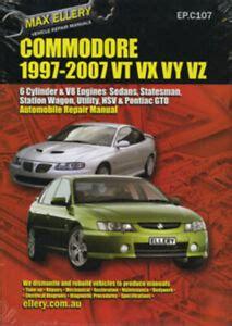 Holden Vu Workshop Manual