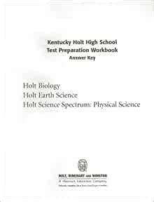 Holt Biology Test Preparation Workbook Answer Key
