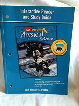 Holt Interactive Reader Study Guide