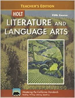 Holt Literature And Language Arts Fifth Course Answer Key