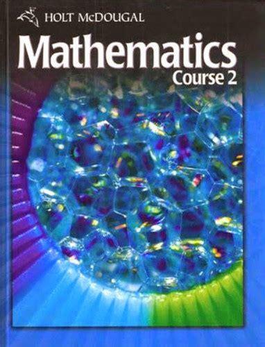 Holt Mcdougal Florida Mathematics Course 2 Answers