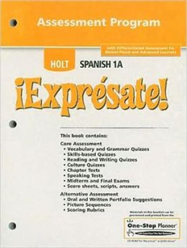Holt Spanish 1 Workbook Answers Festejemos