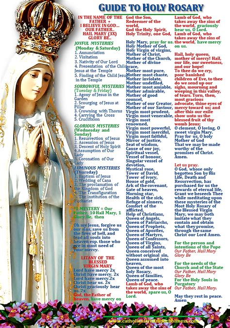 Holy Rosary Guide