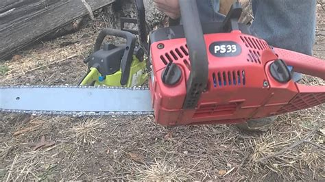 Homelite Ps33 Chainsaw Operators Manual