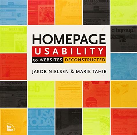 Homepage Usability 50 Websites Deconstructed Real World Usability Deconstructed Voices That Matter
