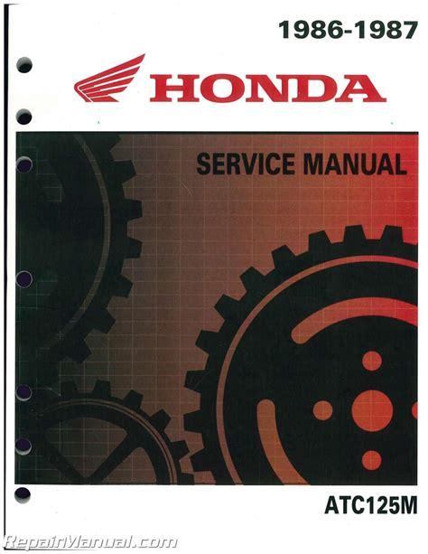 Honda 125m Manual