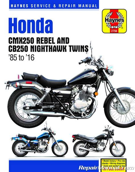 Honda 250 Rebel Motorcycle Manual
