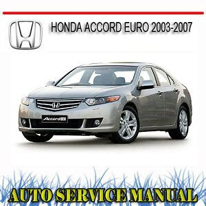 Honda Accord 2003 Service Manual