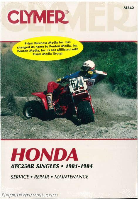 Honda Atc 250r Service Repair Manual 1981 1982 1983 1984
