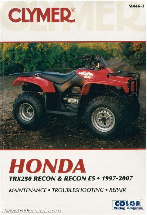 Honda Atv Repair Manual Online