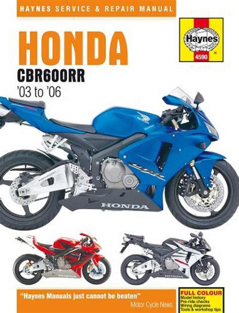 Honda Cbr 600rr Service Manual