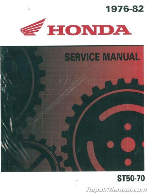 Honda Ct Repair Manual