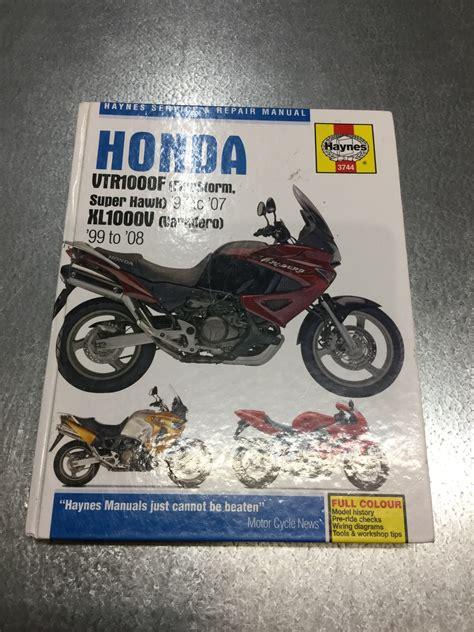 Honda Firestorm Workshop Manual