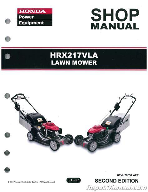 Honda Lawn Mower Service Manual