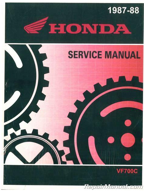 Honda Magna V45 750 Repair Manual