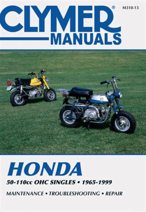 Honda Motorcycle Cl90l 1965 1999 Manual