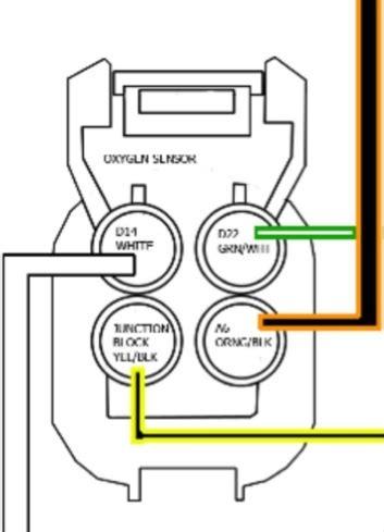 Honda O2 Sensor Wiring Diagram